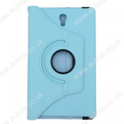 360 Rotation Case Cover for Samsung T700- Light Blue