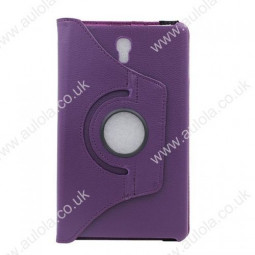 360 Rotation Case Cover for Samsung T700- Purple