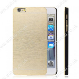 Motomo Metal Premium Luxury Brushed Aluminum Case for 4.7 Inch iPhone 6- Golden