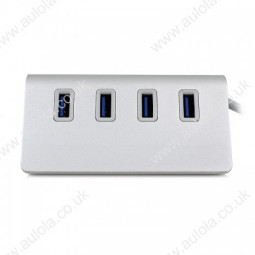 4 Ports Super High Speed USB 3.0 Hub Mini Splitter