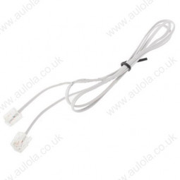 1.5-1.7m 4 Core RJ11 to RJ11 Telephone Cable