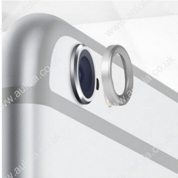 "Moblie Rear Camera Lens Protective Ring for iPhone 6 5.5"" - Silver"