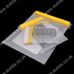 3 x PVC Waterproof Dry Bags Pouch Velcro Seal with Lanyard