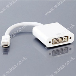 Mini DisplayPort Male to DVI Female Converter Adapter Cable for Macbook