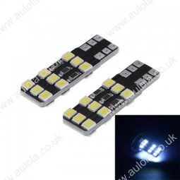 T10-2835-18SMD Canbus LED Car Width Light Lamp White
