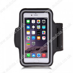 Adjustable Armband Armlet Velcro Strap for iPhone 6 4.7 - Black