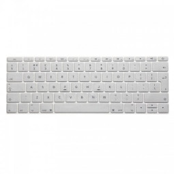 EU Silicone Keyboard Skin Cover For Apple Macbook Pro Air Mac Retina 12 inch - Silver