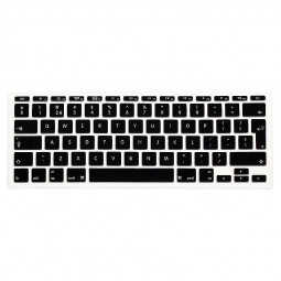 EU Silicone Keyboard Skin Cover For Apple Macbook Pro Air Mac Retina 11 inch - Black