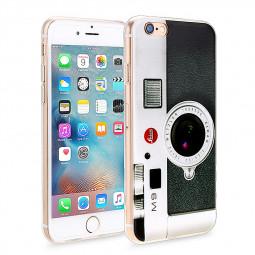 Slim Soft Rubber TPU Back Case Skin for Apple iPhone 6 4.7 - Flash Camera