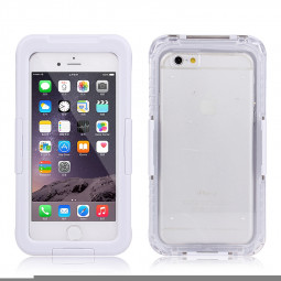 I-101 Waterproof Ultra-Rugged Protective Case for iPhone 6 Plus 5.5 - White