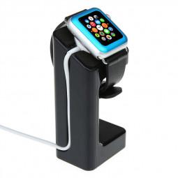 Apple Watch 38mm Stand Holder Docking Station- Black