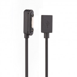 Sony Z1/2/3 Magnetic Magnet to USB 2.0 Female Power Charging Cable Adapter