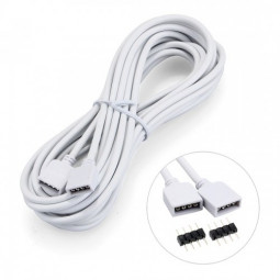 2.5m 4 Pin RGB Lamp Extension Cord Cable