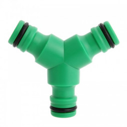 """Car Garden 3 Way Splitter Hose Pipe Coupling Connector 1/2"""" Fast Joint"""