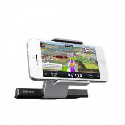 Universal Car CD Slot Phone GPS Sat Nav Mount Stand Holder + 3 Detachable Pads + Packing