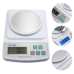 SF-400C Digital Scale 500g for Precision Weighing Counting