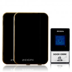 Twins Wireless Door Bell Home Cordless 32 Chie 200m Rance Digital Doorbell - Black