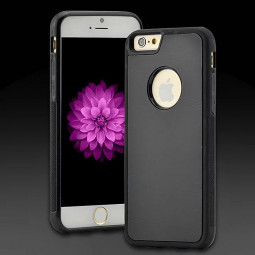Anti-Gravity Selfie Magical Case Nano Sticky Cover For iPhone 6S Plus - Black
