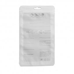 20 * 12cm Aircraft Hole Transparent Phone Case Sealed Bags - White