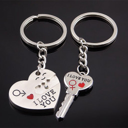 I Love You Gift Ideal Present Birthday Anniversary For Man Women - Silver White