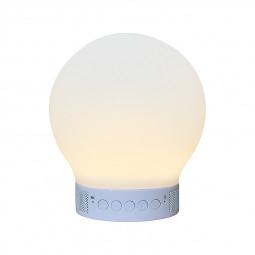 Smart LED Floor Night Lights Bluetooth Speaker Color Lamp - Round