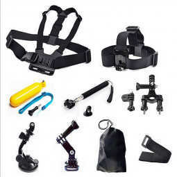 9 in 1 Outdoor Sports Essentials Kit for GoPro Hero 4 3+