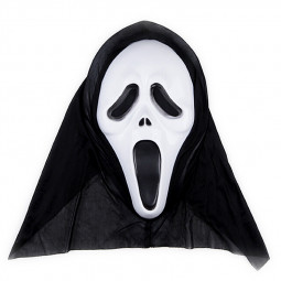Halloween Horror Skull Ghost Mask for Masquerade Cosplay - White Face