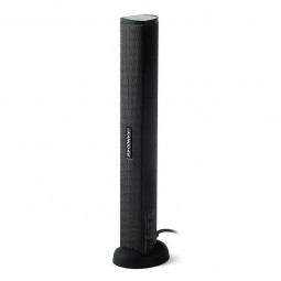 iKANOO N12 Portable Mini USB Speaker Audio Sound Bar for Laptop PC - Black