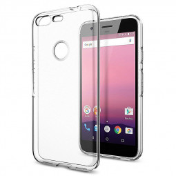 Transparent Thin Slim Clear TPU Soft Cover Case for Google Pixel XL