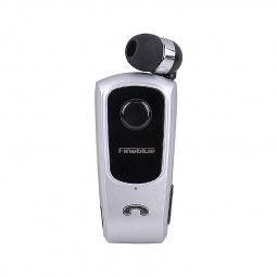F920 Wireless Bluetooth HiFi Earphone Music Sports Headset - Silver