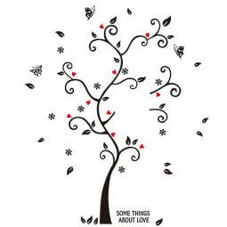 Family Tree Wall Decal Sticker Photo Picture Frame Decor