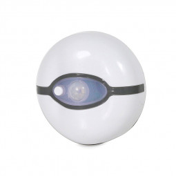 Elf Ball Style Auto Sensor Bathroom Toilet Seat Night Light - White