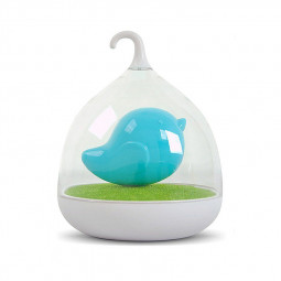 Touch Sensor Lamp Birdcage LED Night Light - Blue