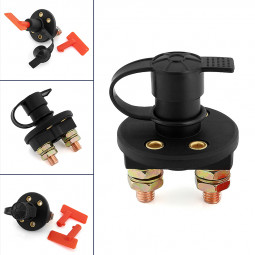 Car Truck Battery Isolator Disconnect Cut Off Power Kill Switch