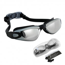 Crystal Clear Anti Fog Lens Swimming Goggles Glasses for Adult Kid