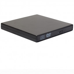 External USB 2.0 Slim RW DVD ROM CD Rewriter DVD Drive for Laptop PC