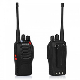 Baofeng BF-888S 5W UHF 400-470MHz Walkie Talkie Two Way Radio Interphone with Earphone