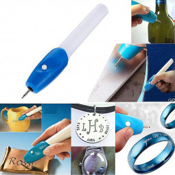 Mini Electric Engraving Carving Pen Jewelry Engraver Tool for Inscribe Almost Any Metal Wood Glass or Plastic