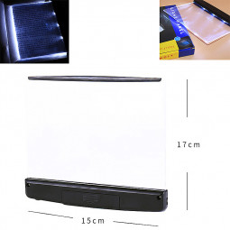 Portable LED Read Panel Light Reading Book Night Lamp Vision-Protecting
