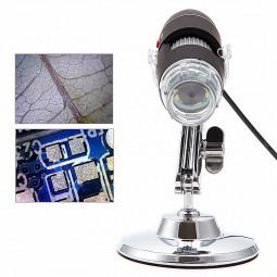 Portable USB Digital 50-500X 5MP Microscope Magnifier Camera