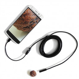 7MM Focus Camera Lens USB Cable Waterproof 6 LED Android Endoscope Camera