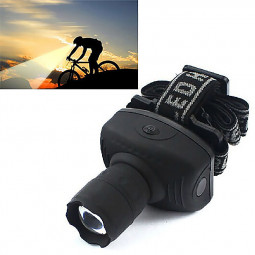 3W LED Headlight Headlamp FlashlightZoomable Head Torch Light for Camping Hunting