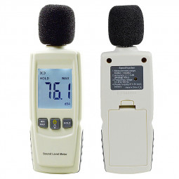 Mini Electric Digtal Noise Detector Dector High Precision Sound Meter