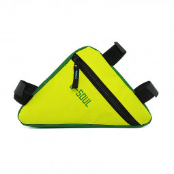 Cycling Bike Front Tube Frame Bag Waterproof Triangle Bicycle Pouch Bag - Yellow