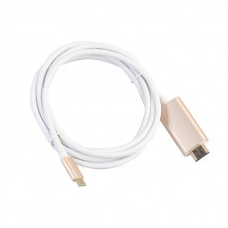 1.8m USB 3.1 Type-C Male to HDMI Male Cable HDTV Video Adapter Cable - Gold