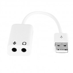 3D USB 7.1 Channel External USB Audio Sound Card Adapter for Windows XP Win 7 8