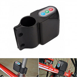 Bicycle Bike Motion Sensor Anti Theft Security Alarm Warning Annunciator Lock - Black