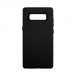 Slim Mesh Dots TPU Soft Case for Samsung Galaxy Note 8 - Black
