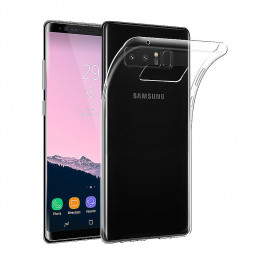 For Samsung Galaxy Note 8 Crystal Clear TPU Protective Soft Case