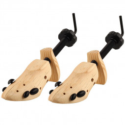 2pcs Womens Ladies Shoe Stretchers Tree Wooden Shaper Bunion Corn Blister Size S